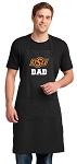 Oklahoma State Dad Large Apron