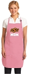 Oklahoma State Mom Apron Pink - MADE in the USA!