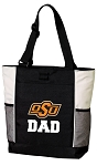 Oklahoma State Dad Tote Bag White Accents