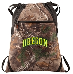 University of Oregon RealTree Camo Cinch Pack