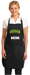 Official University of Oregon Mom Apron Black