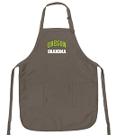 University of Oregon Grandma Deluxe Apron Khaki