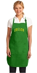 Deluxe University of Oregon Apron MADE IN THE USA Green
