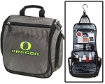 University of Oregon Toiletry Bag or Shaving Kit Gray
