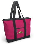Deluxe Pink University of Oregon Tote Bag
