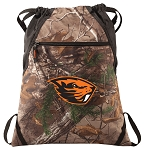 Oregon State Beavers RealTree Camo Cinch Pack