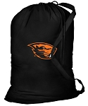 Oregon State Beavers Laundry Bag Black