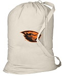 Oregon State Beavers Laundry Bag Natural