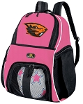 Girls Oregon State University Soccer Backpack or OSU Beavers Volleyball Bag