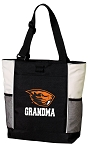 Oregon State Grandma Tote Bag White Accents