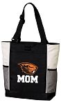 Oregon State Mom Tote Bag White Accents