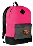 OSU Beavers Backpack HI VISIBILITY Oregon State University CLASSIC STYLE For Her Girls Women