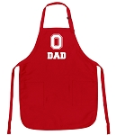 Deluxe Ohio State Dad Apron Red