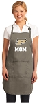 Official Purdue University Mom Apron Tan