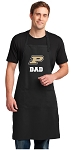 Purdue Dad Large Apron