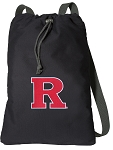 RUTGERS Cotton Drawstring Bag Backpacks