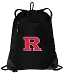 RUTGERS Drawstring Backpack-MESH & MICROFIBER