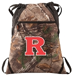 RUTGERS RealTree Camo Cinch Pack
