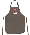 Official Rutgers Grandma Apron Tan