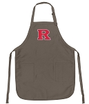 Official RU Logo Apron Tan