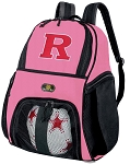 Girls Rutgers University Soccer Backpack or RU Volleyball Bag
