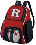 RU Soccer Backpack or Rutgers University Volleyball Practice Bag Red Boys or Girls