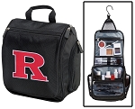 Rutgers University Toiletry Bag or RU Shaving Kit Travel Organizer for Men