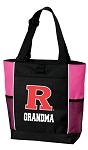 Rutgers University Grandma Tote Bag Pink