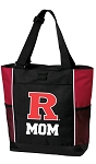 Rutgers University Mom Tote Bag Red