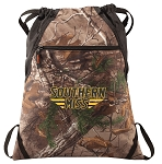 Southern Miss RealTree Camo Cinch Pack