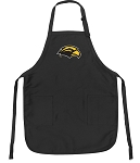Official USM Southern Miss Apron Black