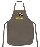 Official Southern Miss Grandma Apron Tan