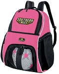 Girls Southern Miss Soccer Backpack or USM Golden Eagles Volleyball Bag