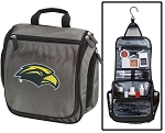 USM Toiletry Bag or USM Southern Miss Shaving Kit Organizer for Him Gray