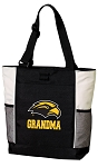 Southern Miss Grandma Tote Bag White Accents