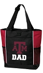 Texas A&M Dad Tote Bag Red