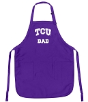 Deluxe Texas Christian University Dad Apron MADE in the USA!