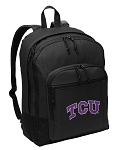 Texas Christian University Backpack - Classic Style