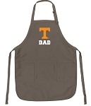 University Tennessee Dad Deluxe Apron Khaki