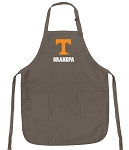 Official Tennessee Grandpa Apron Tan