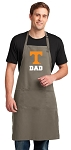 University Tennessee Dad Large Apron Khaki