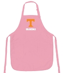 University Tennessee Grandma Apron Pink - MADE in the USA!