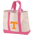 University of Tennessee Tote Bags Pink