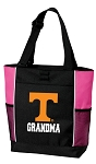 University of Tennessee Grandma Tote Bag Pink