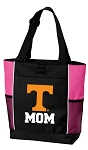 University of Tennessee Mom Tote Bag Pink