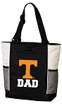University of Tennessee Dad Tote Bag White Accents
