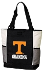 University of Tennessee Grandma Tote Bag White Accents