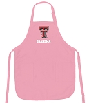 Deluxe Texas Tech Grandma Apron Pink - MADE in the USA!