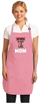 Deluxe Texas Tech Mom Apron Pink - MADE in the USA!