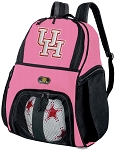 Girls UH Soccer Backpack or University of Houston Volleyball Bag